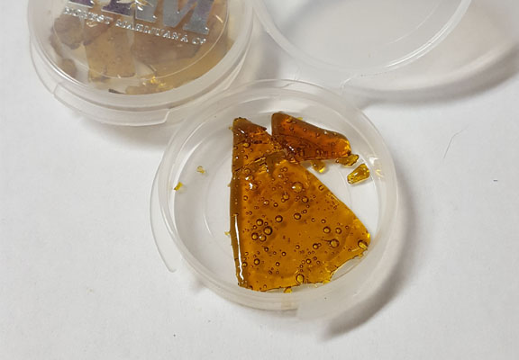 image of process for learning how to smoke shatter