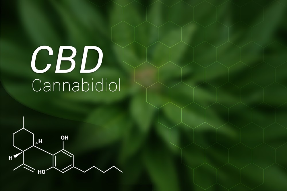 CBD chemical makeup graphic
