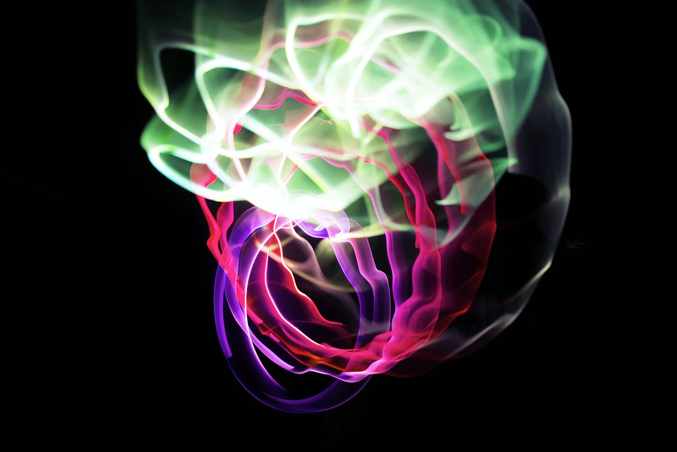 crazy-looking image of color swirls