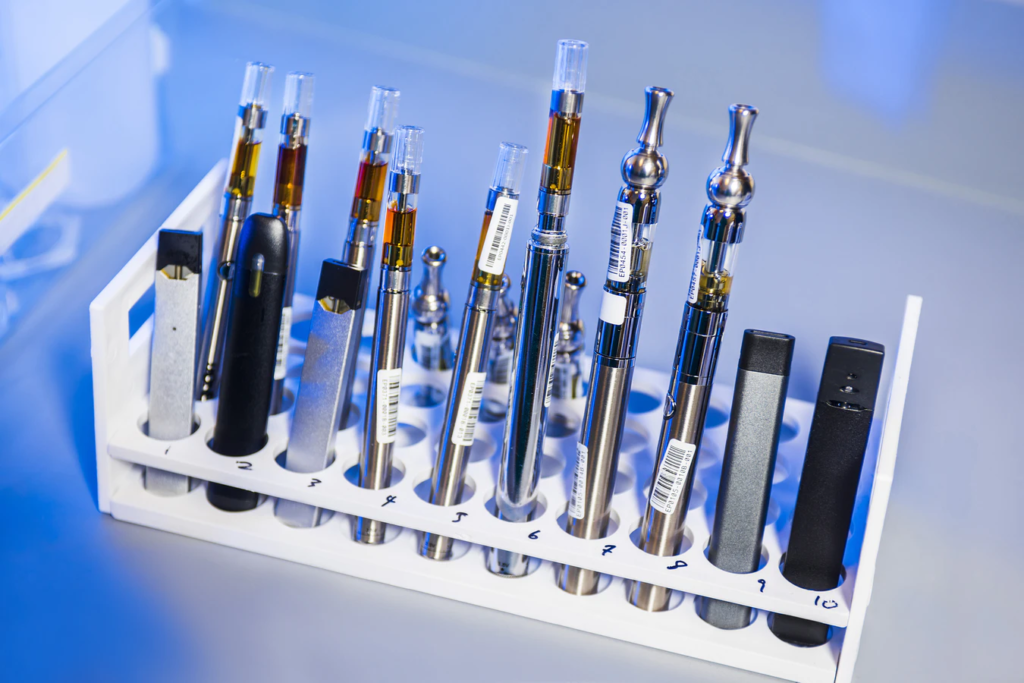 an assortment of dab pens
